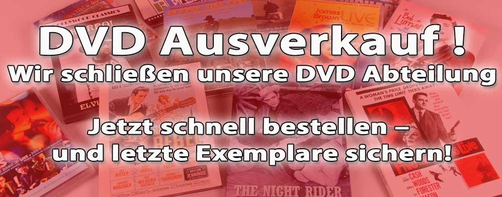 DVD Ausverkauf