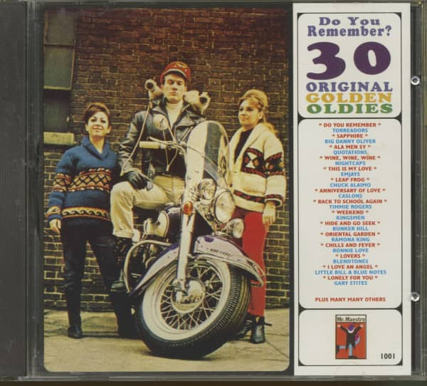Do You Remember - 30 Original Golden Oldies (CD)