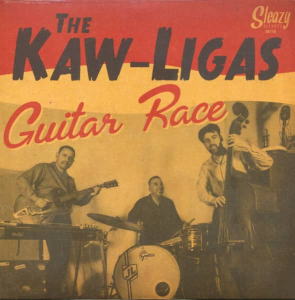 Guitar Race (EP, 7inch, 45rpm, PS)