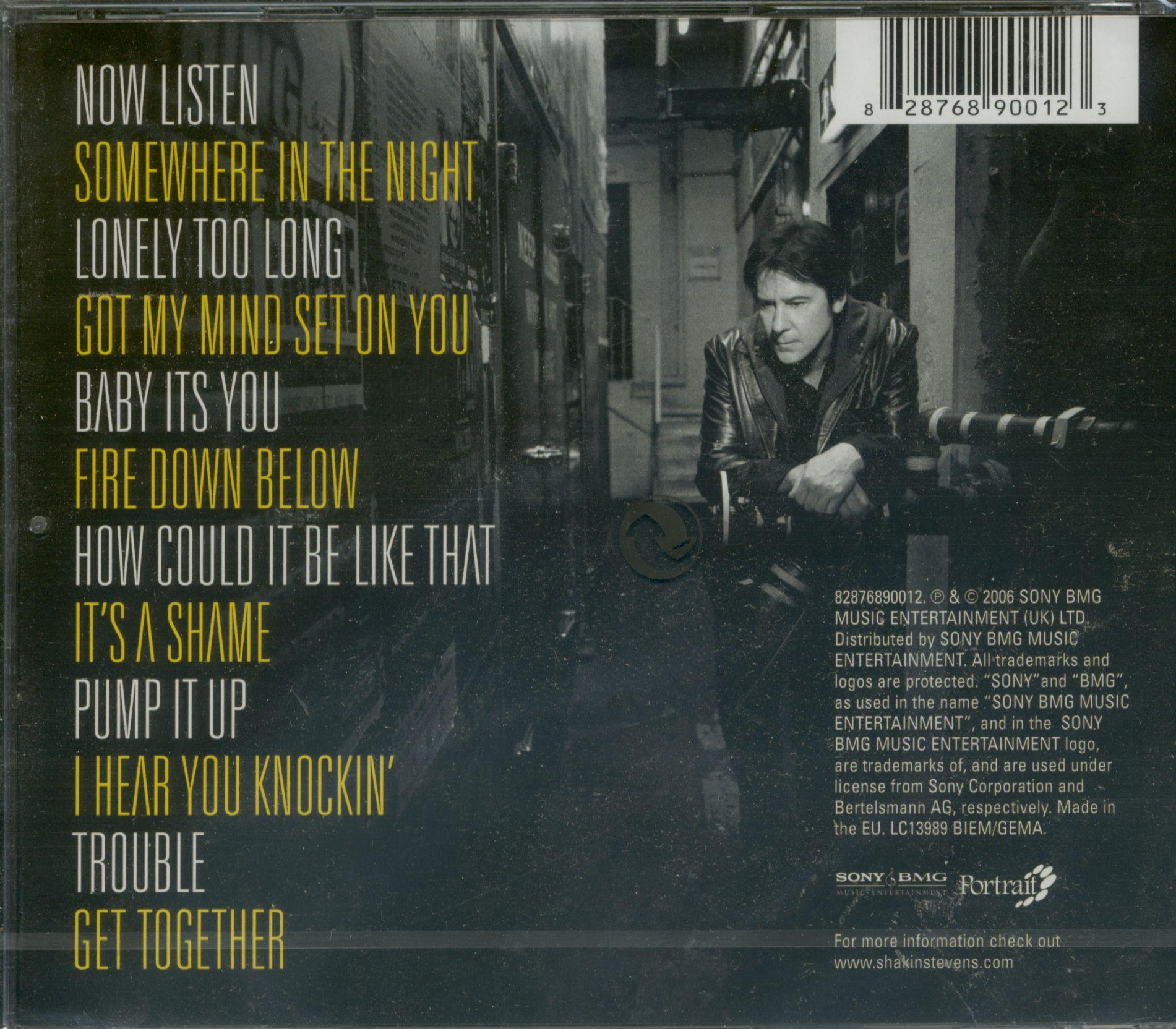 Shakin Stevens Cd Now Listen Cd Bear Family Records