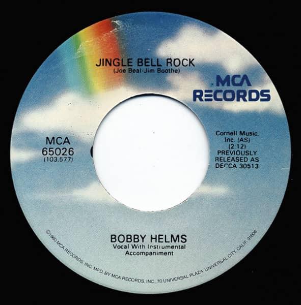 Jingle Bell Rock - Captain Santa Claus 7inch, 45rpm