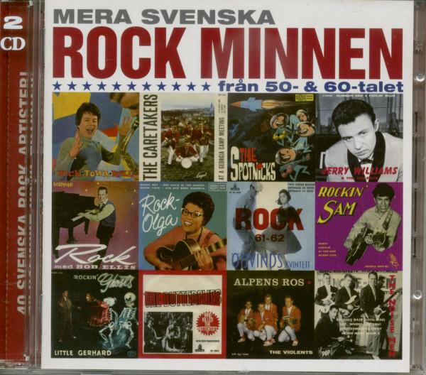 Mera Svenska Rock Minnen 1950 - 60s (2-CD)