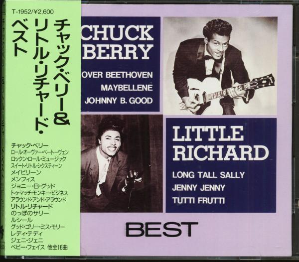 Chuck Berry - Little Richard - Best (CD, Japan)