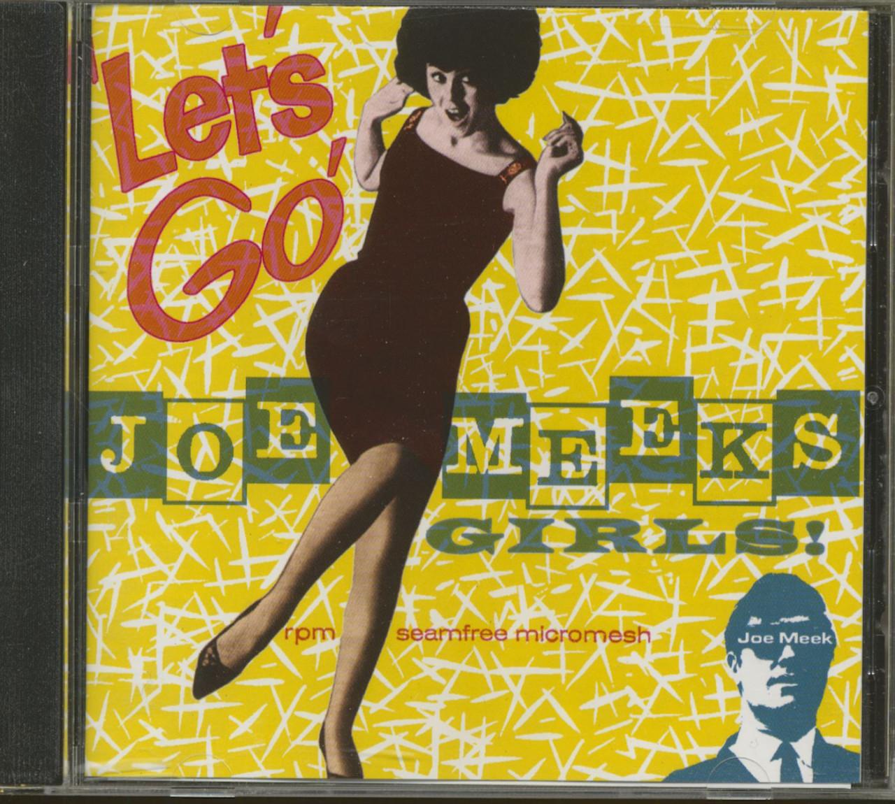 Various - Let´s Go - Joe Meek´s Girls (CD)