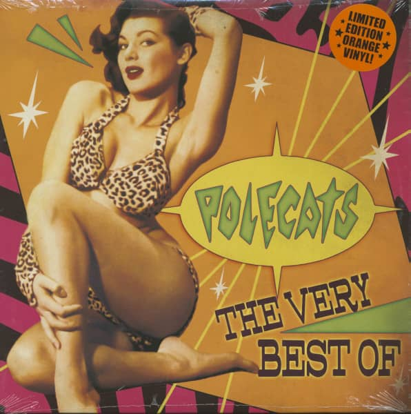 The Very Best Of The Polecats (LP, Ltd.)