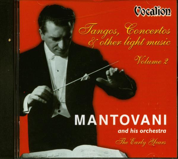 Tangos, Concertos & Other Light Music Vol.2 (CD)