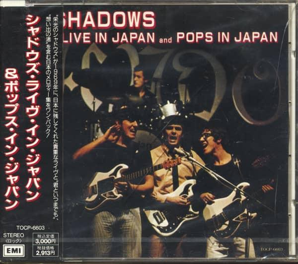 Live In Japan - Pops In Japan (CD, Japan)