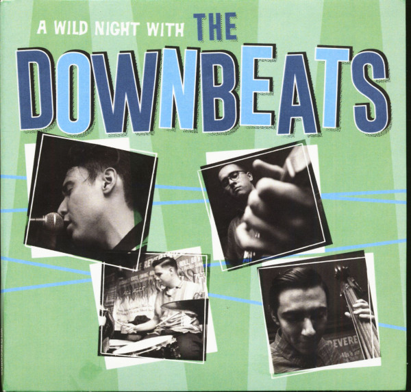 A Wild Night With The Downbeats (CD)