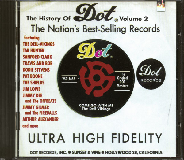 The History Of Dot Records Vol.2 (CD)