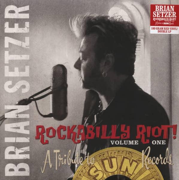 Rockabilly Riot! Vol.1 - A Tribute To Sun Records (2-LP, 180g Red Vinyl, Ltd.)
