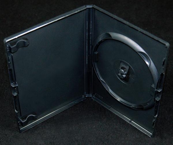 DVD Leerhülle - schwarz