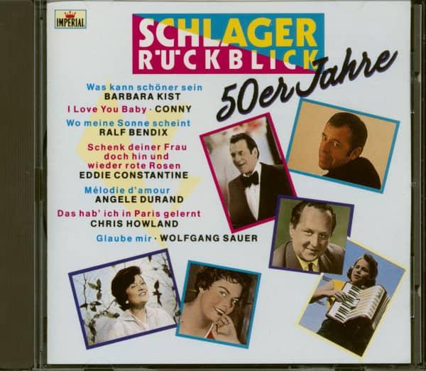 Schlager Rückblick - 50er Jahre (CD)