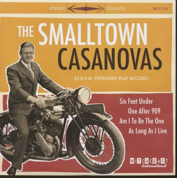 The Smalltown Casanovas (7inch, 33rpm, EP, PS, sc)