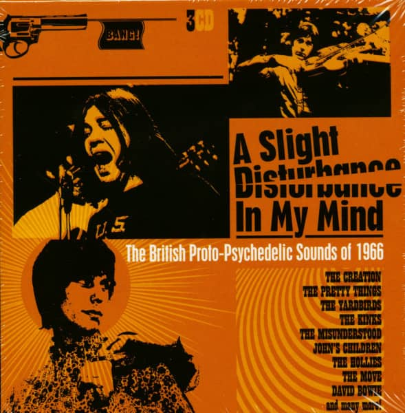 A Slight Disturbance In My Mind - The British Proto-Psychedelic Sound Of 1966 (3-CD)