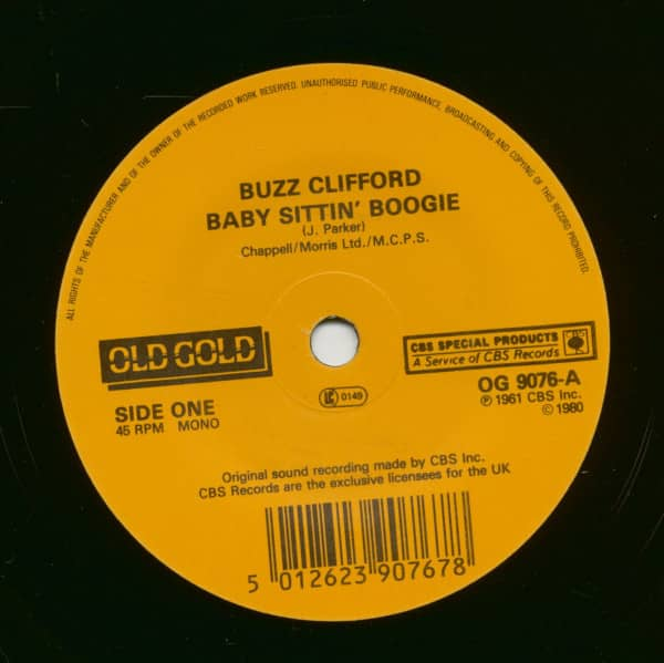 Baby Sittin' Boogie - Roses Are Red (7inch, 45rpm, SC)