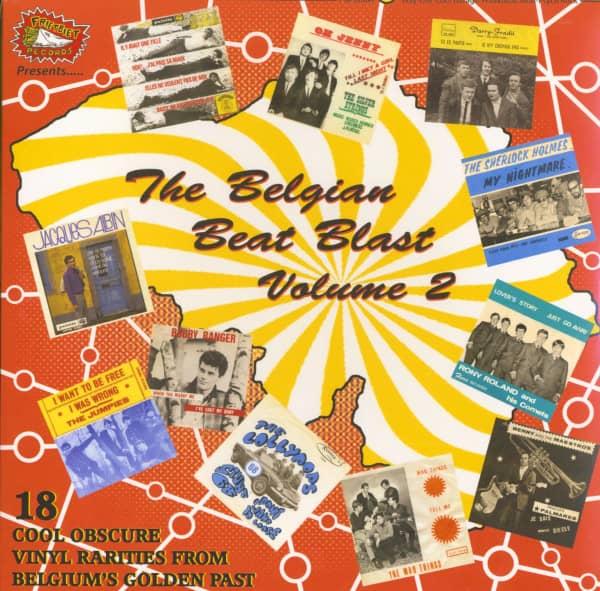 Belgian Beat Blast Vol.2 (Vinyl LP)