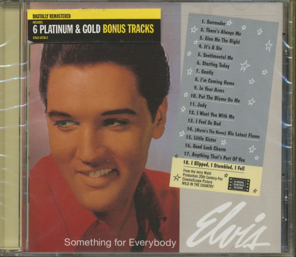 Something For Everybody...plus (CD)