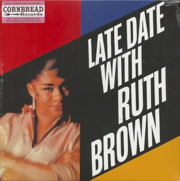 Late Date With Ruth Brown (LP, 180g Vinyl)