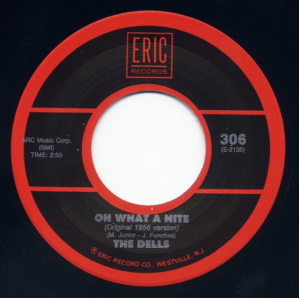 Oh What A Nite - At My Front Door 7inch, 45rpm