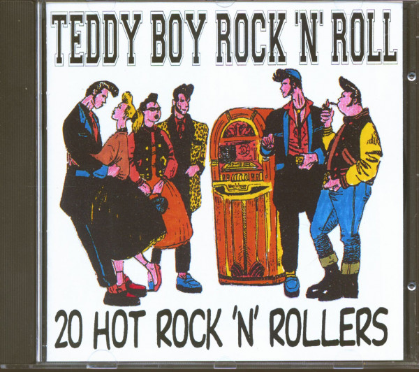 Teddy Boy Rock'n'Roll Vol.1 - 20 Hot Rock'n'Rollers (CD)