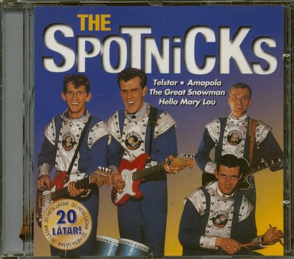 The Spotnicks (CD)