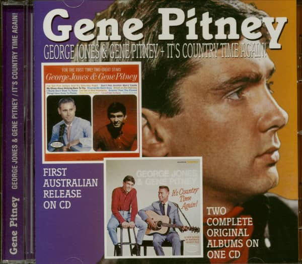 George Jones & Gene Pitney - It's Country Time Again (CD)