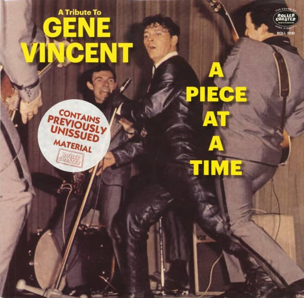 A Piece At A Time - A Tribute To Gene Vincent (LP, 10inch)