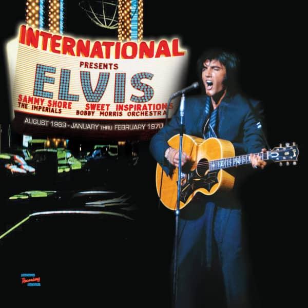 Las Vegas International Presents Elvis (3-CD)