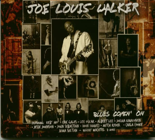 Blues Comin' On (CD)