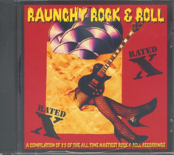 Raunchy Rock & Roll (CD)