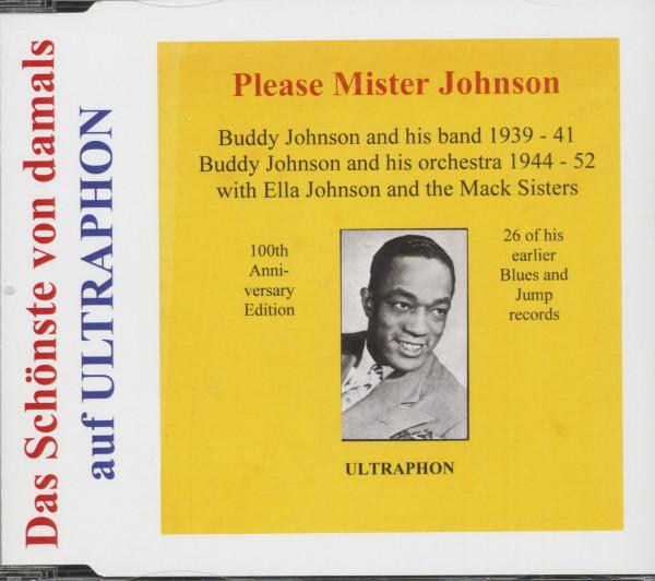 Please Mister Johnson - Das Schönste Von Damals (CD)