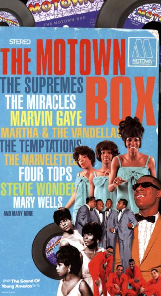 The Motown Box 4-CD