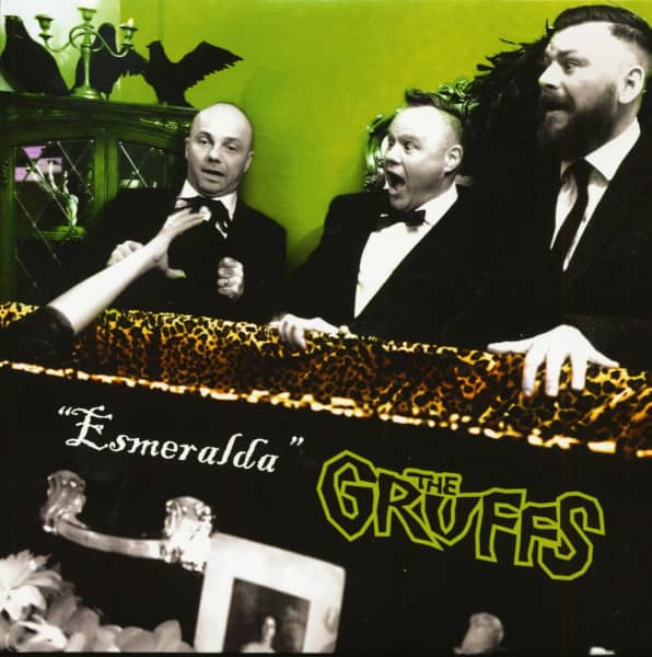 Esmeralda (7inch, EP, 45rpm, PS, Pastel Green Vinyl)