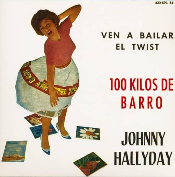 Ven A Bailar El Twist (7inch, EP, 45rpm, PS, SC, Orange Vinyl, Ltd.)