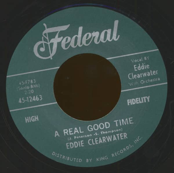 A Real Good Time - Hey Bernadine (7inch, 45rpm)