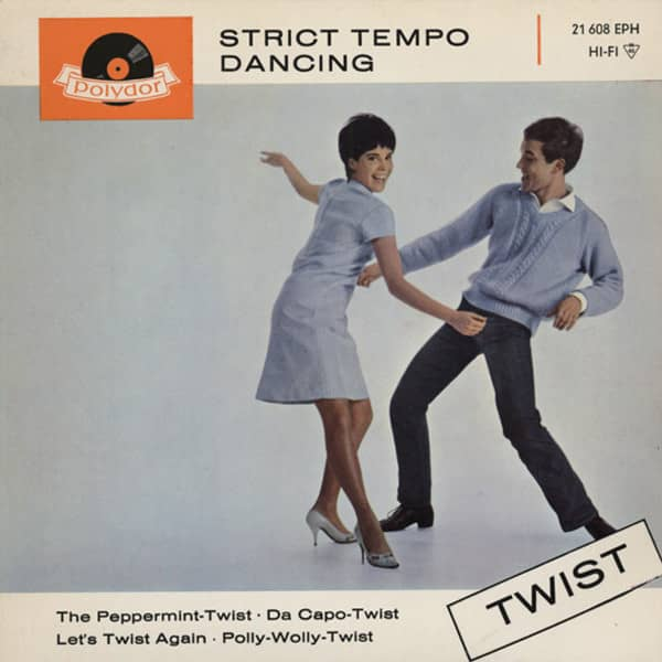 Strict Tempo Dancing - Twist 7inch, 45rpm, EP, PS