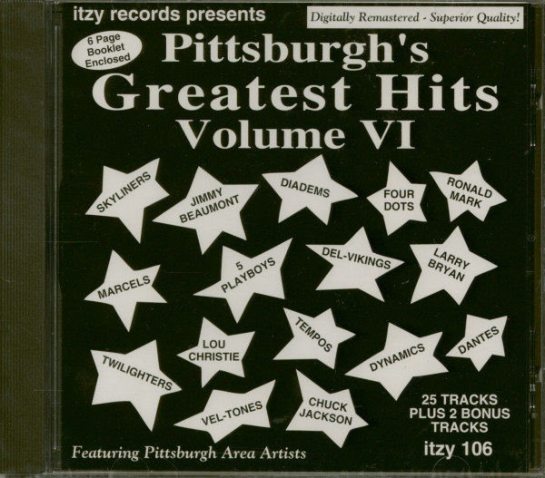 Pittsburgh's Greatest Hits Vol. 6 (CD)