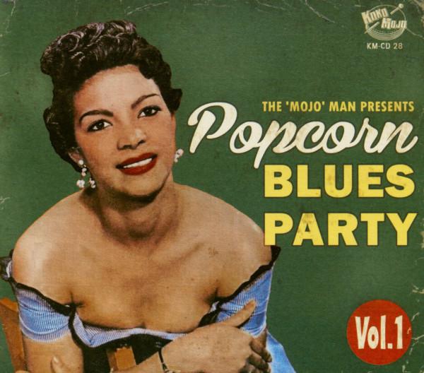 Popcorn Blues Party Vol.1 (CD)