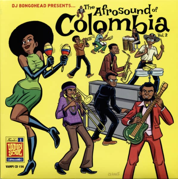 Afrosound Of Colombia, Vol. 2