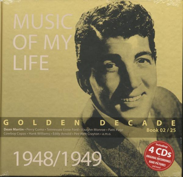 Golden Decade Vol.2 - 1948/1949 (Book & 4-CD)