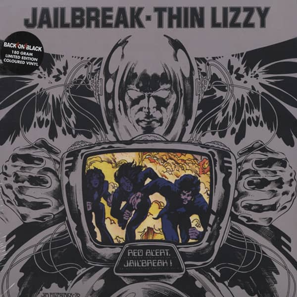 Jailbreak (1976) 180g Vinyl Gatefold - Klappcov