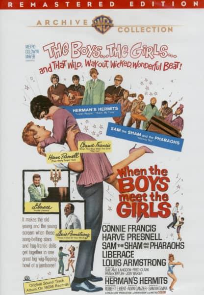 When The Boys Meet The Girls -1965 (DVD)