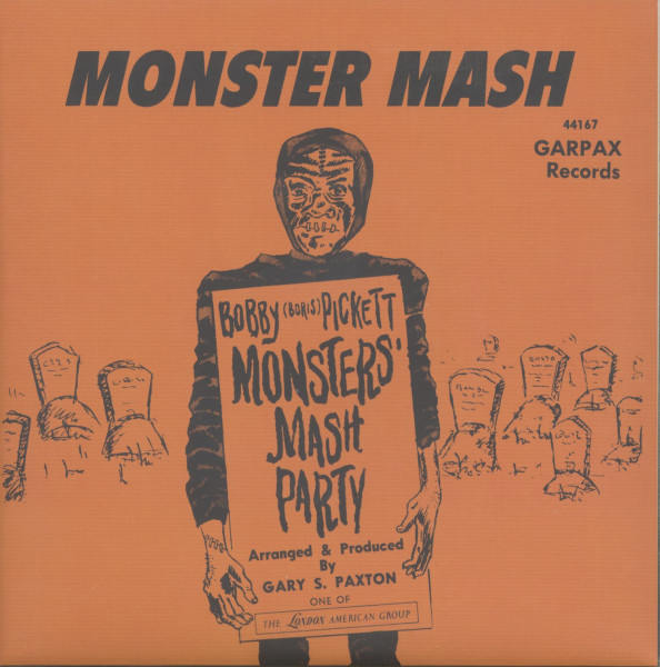 Monster Mash - Monster's Mash Party (7inch, 45rpm, PS)