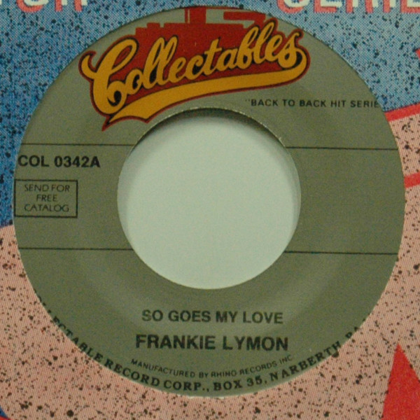 So Goes My Love b-w Sou Young 7inch, 45rpm