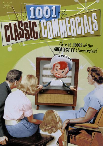 1001 Classic Commercials (3-DVD Tinbox)