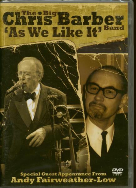 The Big Chris Barber Band 'As We Like It' (DVD)