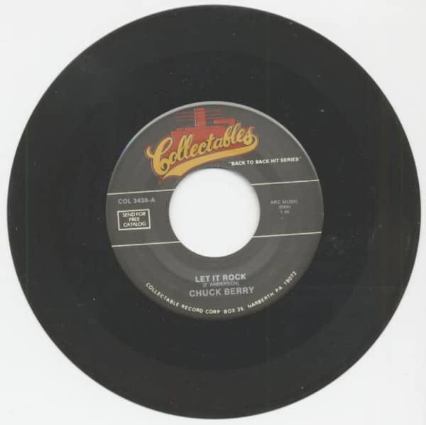 Let It Rock - Sweet Little Rock'n'Roller (7inch, 45rpm)