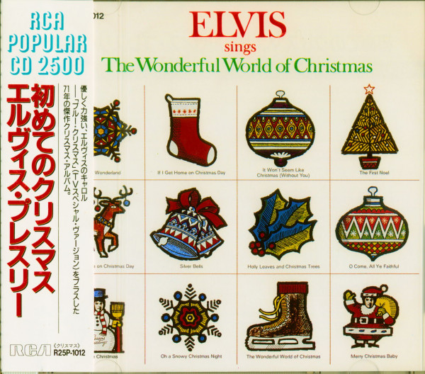 The Wonderful World Of Christmas (CD, Japan Edition)