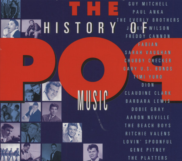 History Of Pop Music (4-CD)