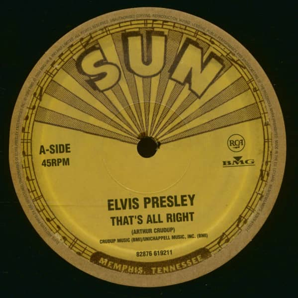 That's All Right - Blue Moon Of Kentucky (10inch Vinyl, 45rpm, Ltd.)